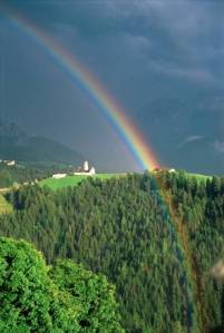 Do you always see the rainbow in the storm?