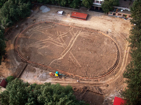 The mysterious oval
