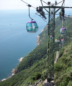 Ocean Park cable cars