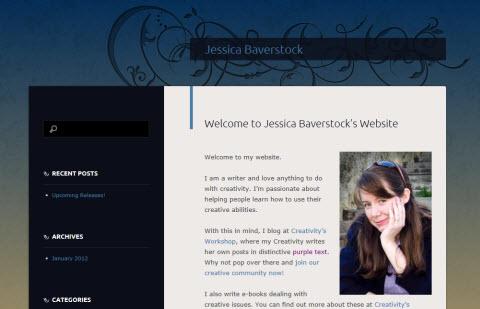 The New jessicabaverstock.com Website